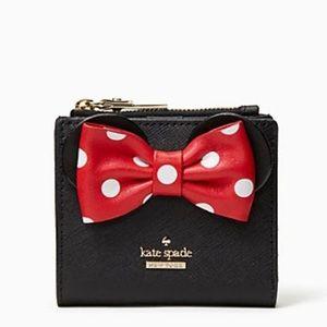 Kate Spade x minnie mouse adalyn Wallet